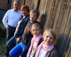 Hof Baumgarte - die Familie