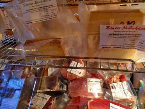 Hof Baumgarte - Hofladen - Fleisch und Käse